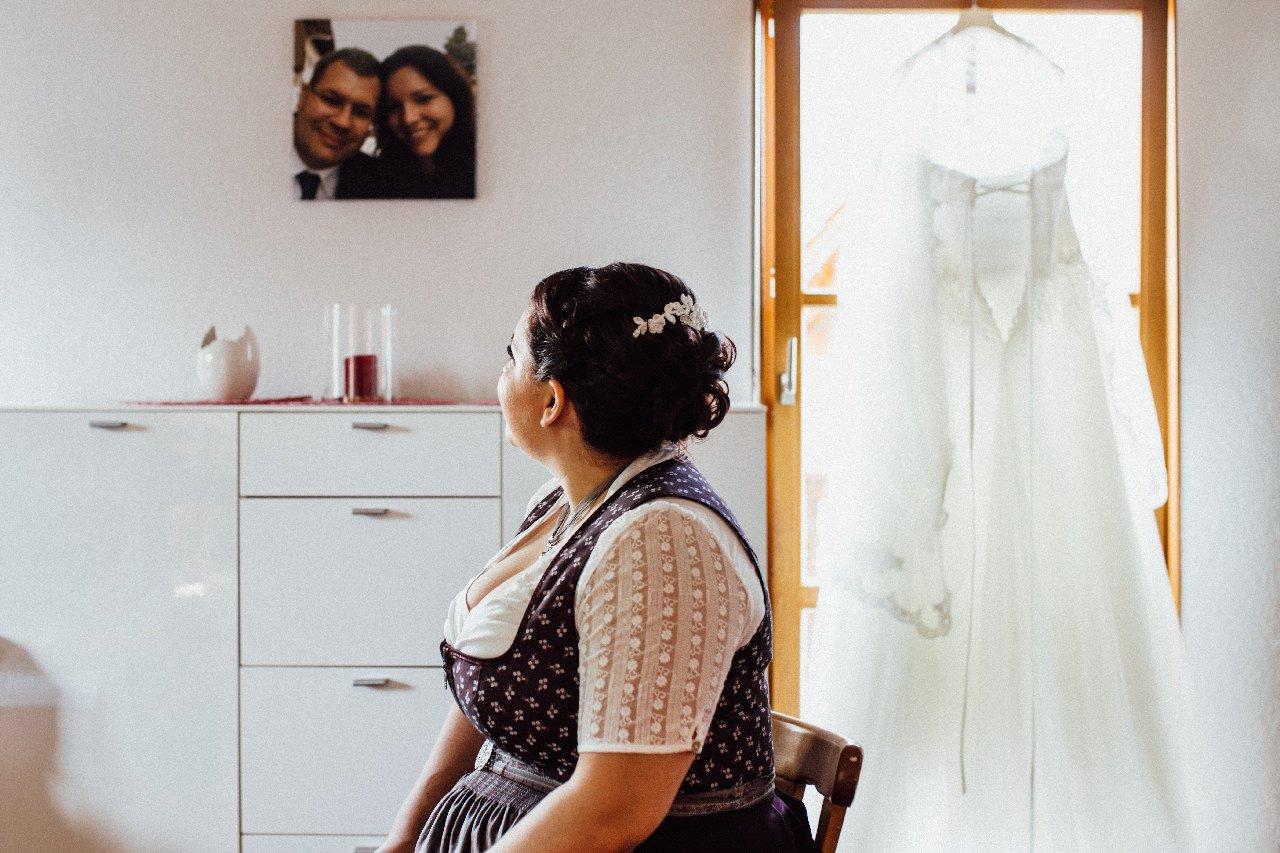 Braut in Landgasthof Schmid