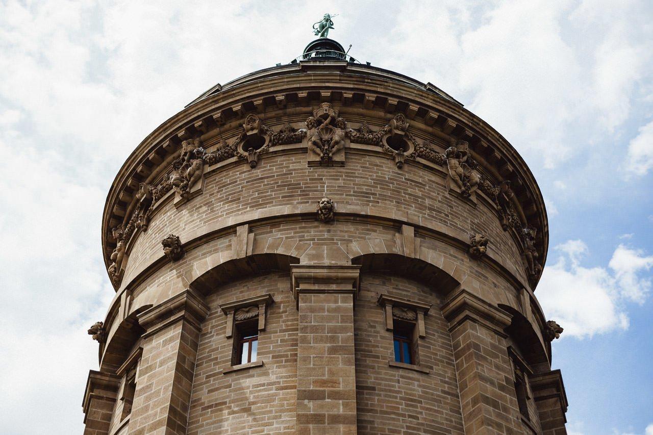 Brunnen in Mannheim