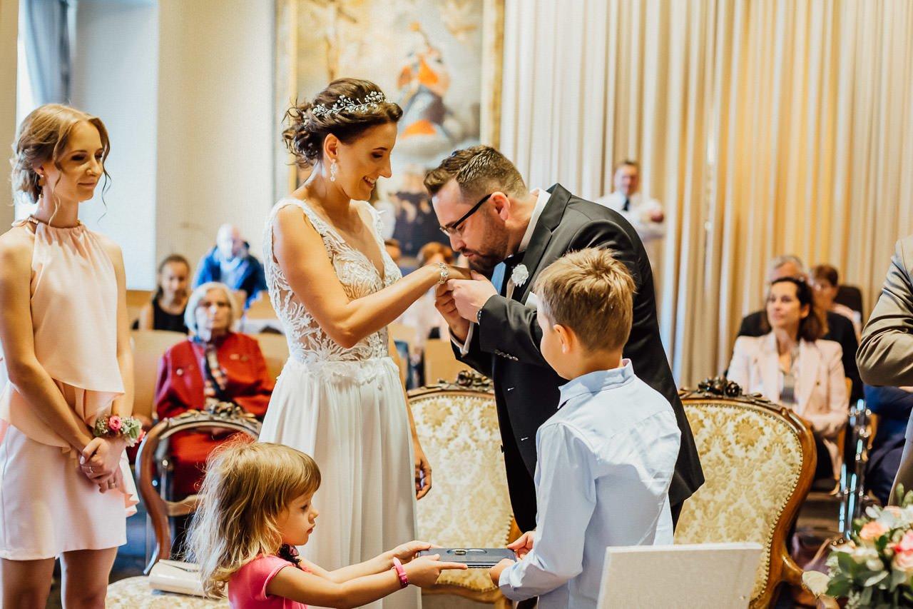 Hochzeitszeremonie im Ingolstadt