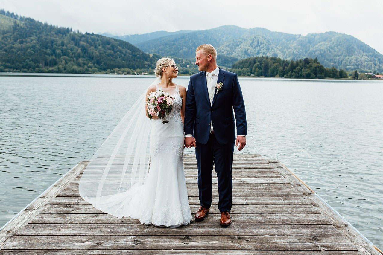 Hochzeitsshooting am Schliersee