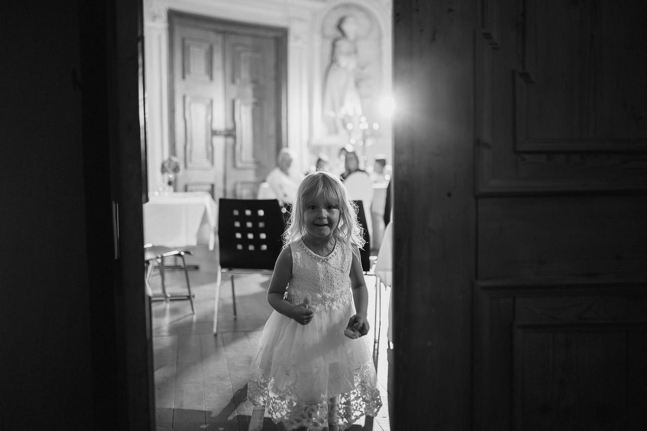 Spaß für Kinder im Hochzeitssaal.