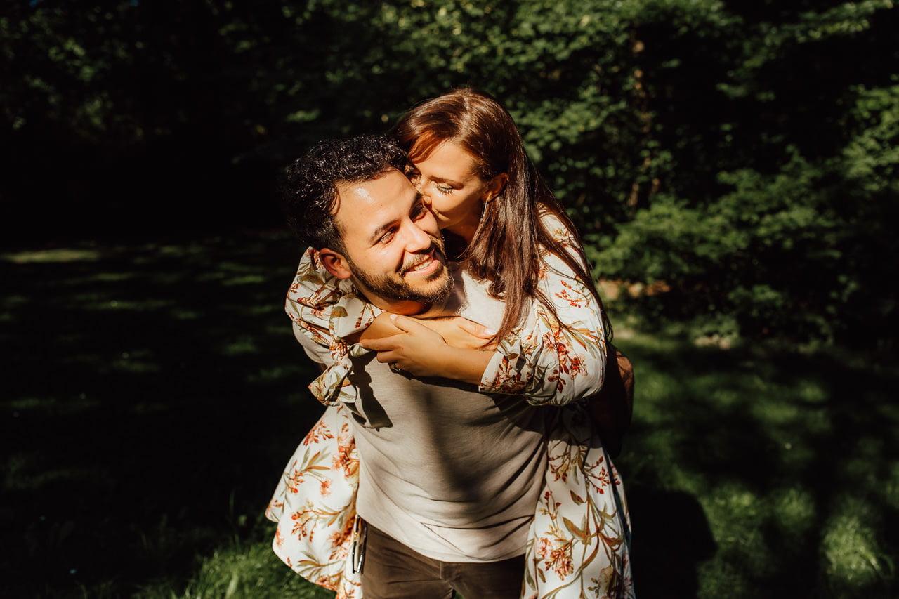 Fotos des Paares in München