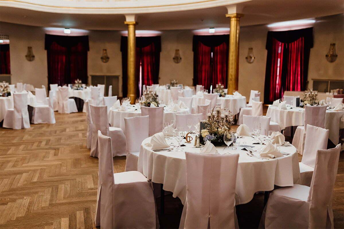 Hochzeitssaal im Kurhaus Bad Tölz