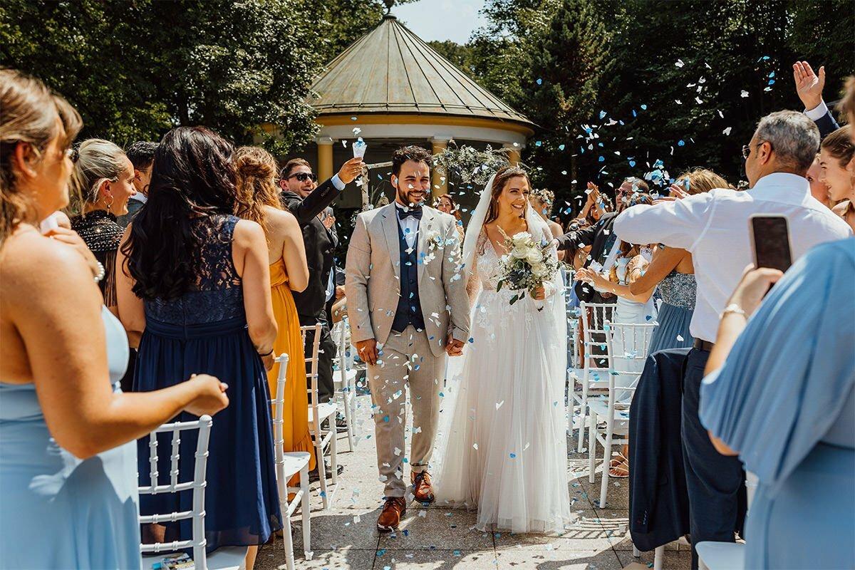 Hochzeit im Freien im Kurhaus Bad Tölz